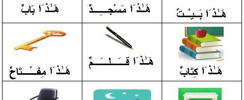 اللغة العربية/LUGHAH/BAHASA: Pelajaran 1.1 : هَـٰـذ