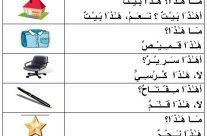 اللغة العربية/LUGHAH/BAHASA: Pelajaran 1.2 : (مـَــا:Apakah), (أ:Adakah), (َهَـٰـذ َا:Ini), (نـَعَـمْ:Ya), (لاَ:Tidak).