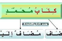 اللغة العربية/LUGHAH/BAHASA: Pelajaran 5: Mudhof dan Mudhofun Ilaih: Soalan Latihan 3, 4