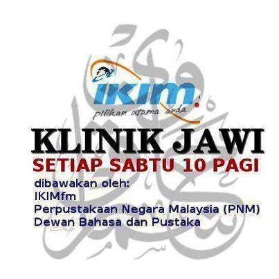 Klinik Jawi IKIMfm, PNM dan DBP
