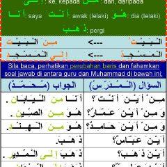 LUGHAH: Pelajaran 4.2 ( مـِــنْ = dari, daripada, إ ِلـَــى = ke, kepada)