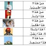 اللغة العربية/LUGHAH/BAHASA: Pelajaran 1.6 :(مَـنْ:Siapakah),(مـَــا:Apakah),(أ:Adakah),(َهَـٰـذ َا:Ini),(نـَعَـمْ:Ya),(لاَ:Tidak).