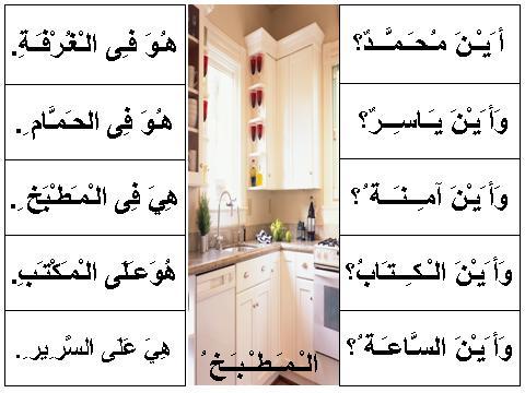 Contoh ayat jar majrur dalam Bahasa Arab