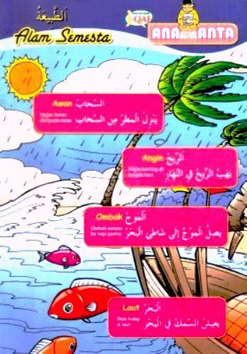 Alam semesta dalam Bahasa Arab
