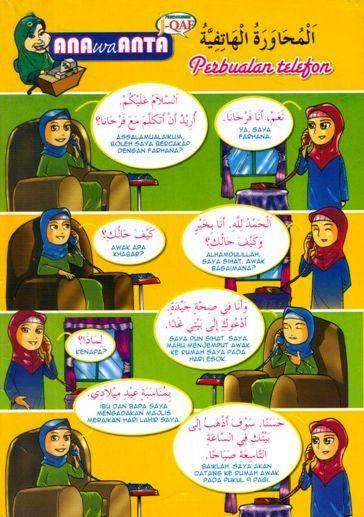perbualan telefon dalam Bahasa Arab