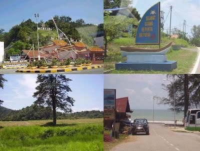 Senarai Penginapan di Pantai Air Papan, Mersing, Johor