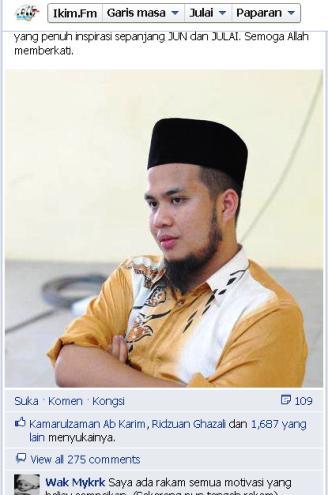 Ustaz Ebit Irawan Bin Ibrahim Lew